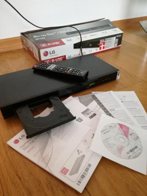 LG blu-ray player bp 420