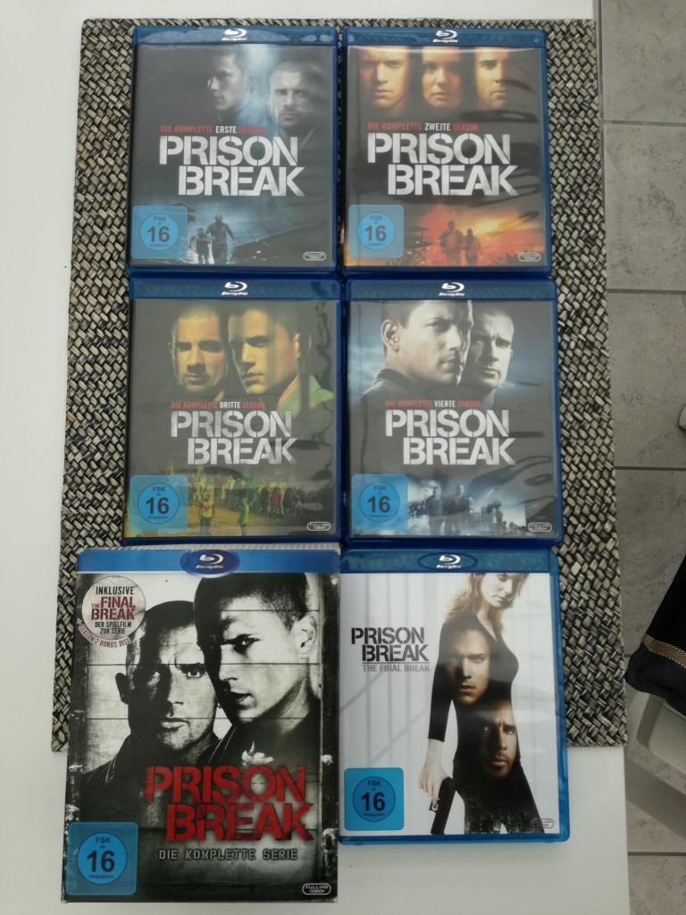PRISON BREAK Komplette Staffel auf Blu-ray